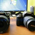 Выбор между Canon EOS 600D и 650D вместо 400D — сравниваем