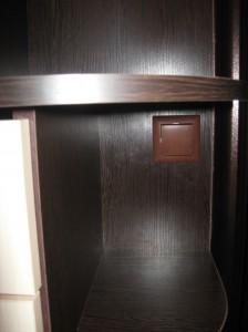 оригинальный шкаф-купе