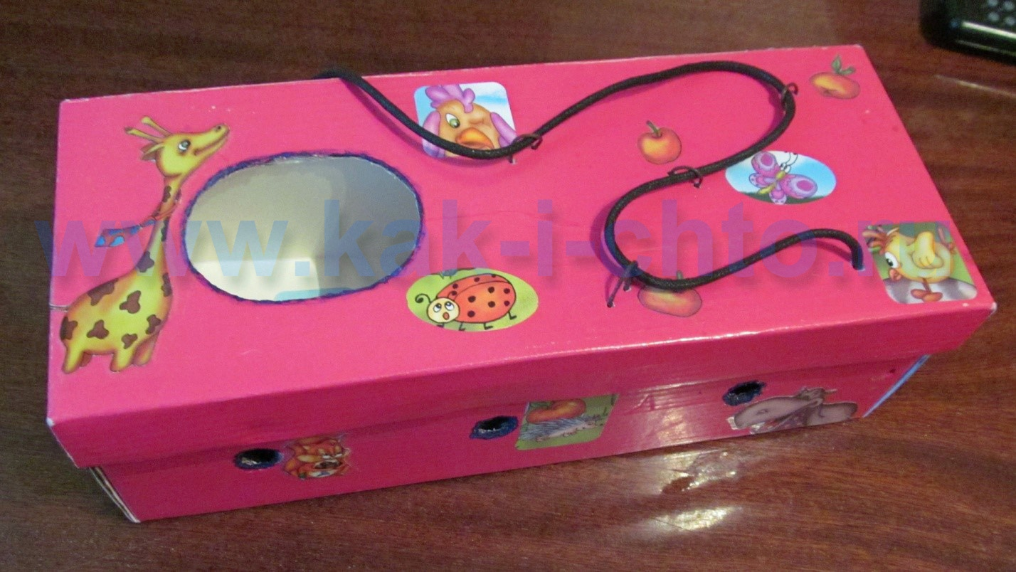 98Развивающая коробка своими руками для детей