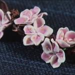 Как сделать ожерелье, похожее на  цветущий сад?