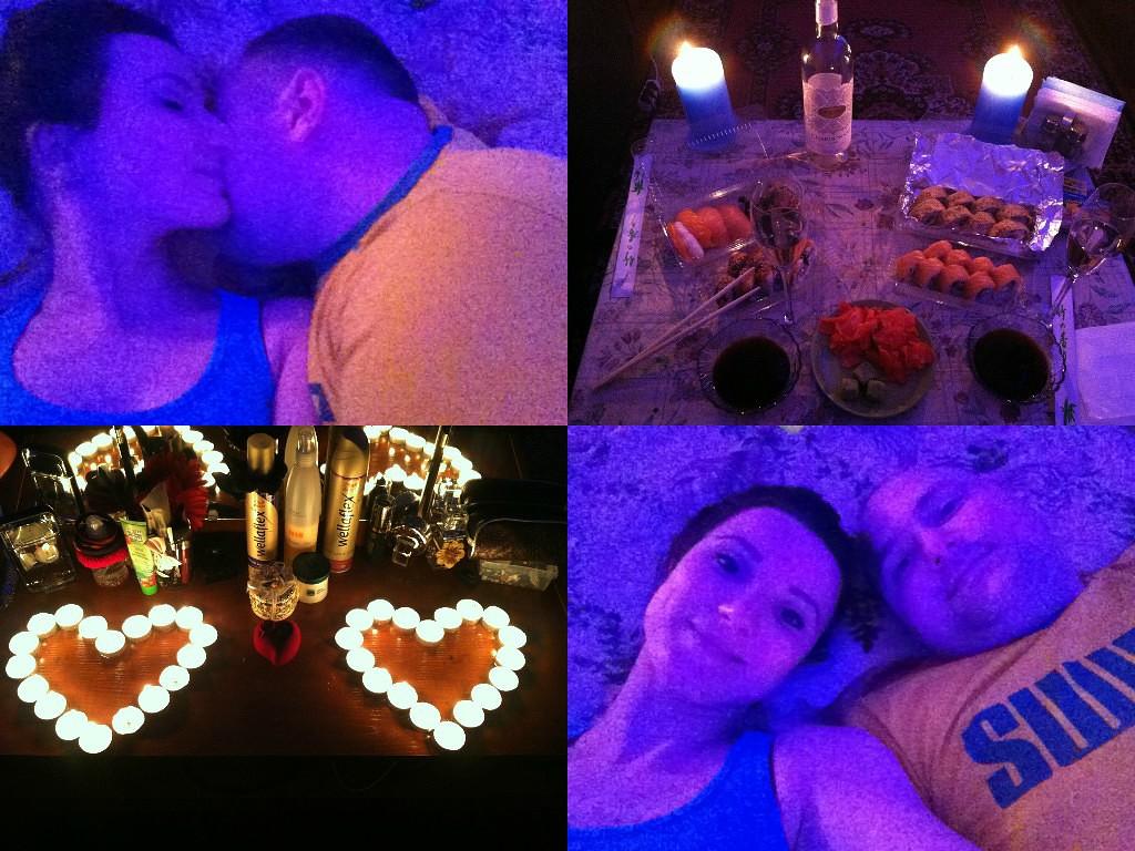Романтический вечер парню как сделать