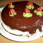 Два в одном: шоколадный торт и пироженное. А также мастер-класс по украшению тортов!
