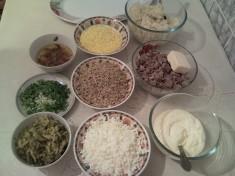 ИНГРЕДИЕНТЫ Вкусный слоеный салат «Искандер»