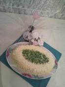 Вкусный слоеный салат «Искандер»