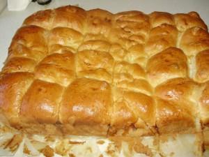 Пирожки с творогом и зеленью в духовке