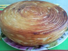 Сытная пирог-запеканка
