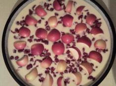 Яблочно-вишневый пирог