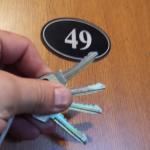 Получение ключей от квартиры в новостройке от ДСК1