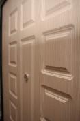 МДФ панель на металлической входной дверь