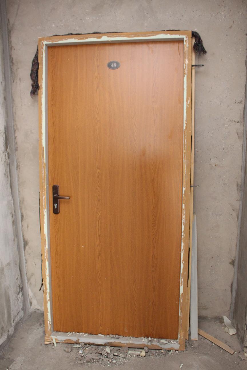 проем входной двери дома п44т