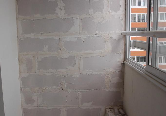 Перегородки между соседними балконами в доме серии п-44т - з.
