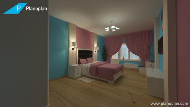 Дизайн спальни вариант 2