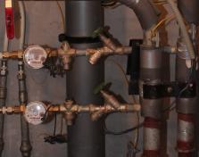 Замена вводных кранов водоснабжения