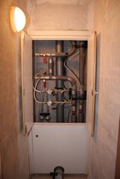 Сантех шкаф в П-44Т