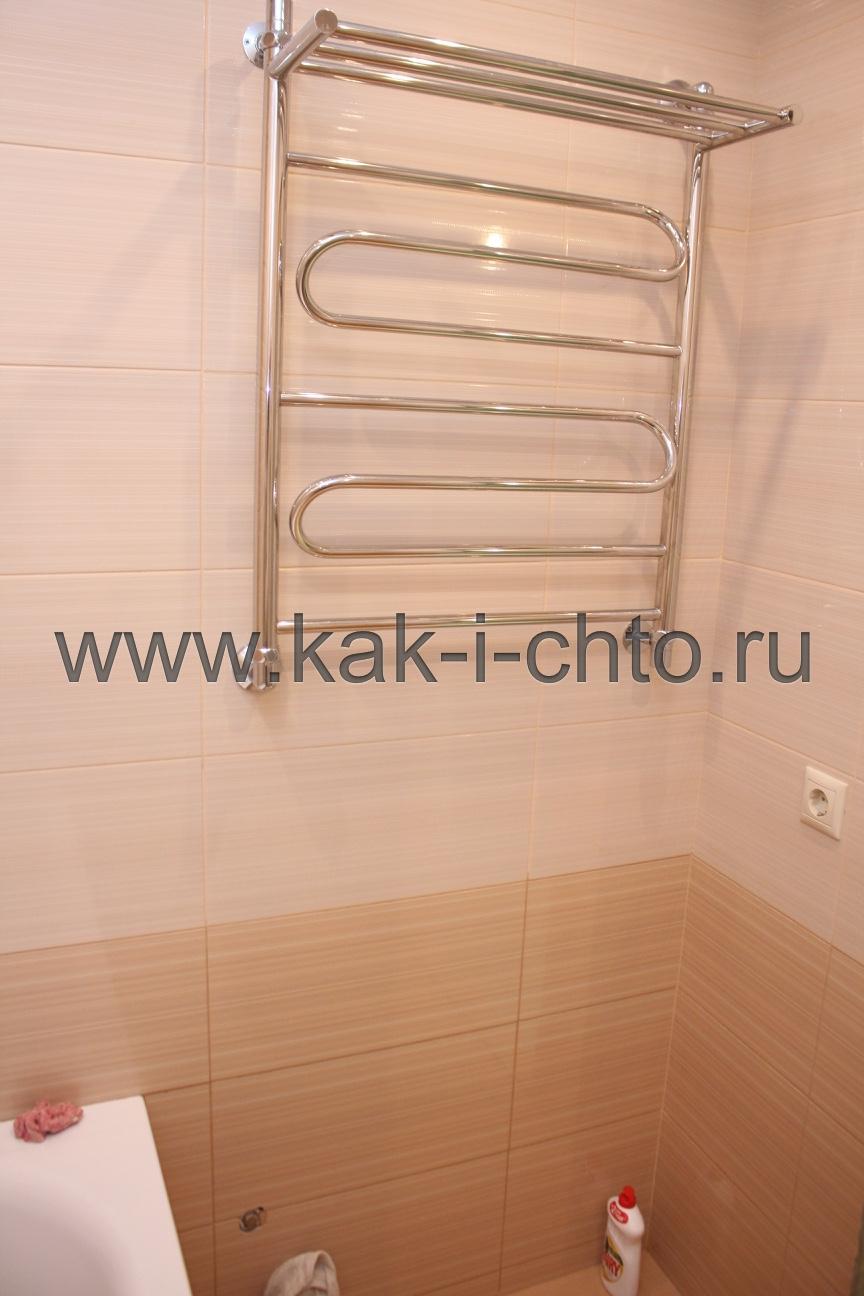готовый ремонт в ванной комнате