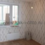 Готовый ремонт в маленькой комнате трехкомнатной квартире П-44Т