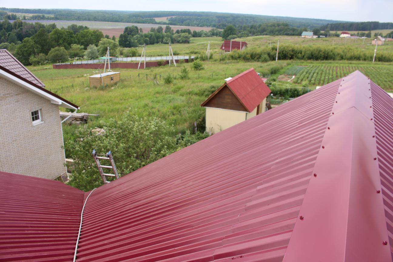 Многощипцовая крыша - конек
